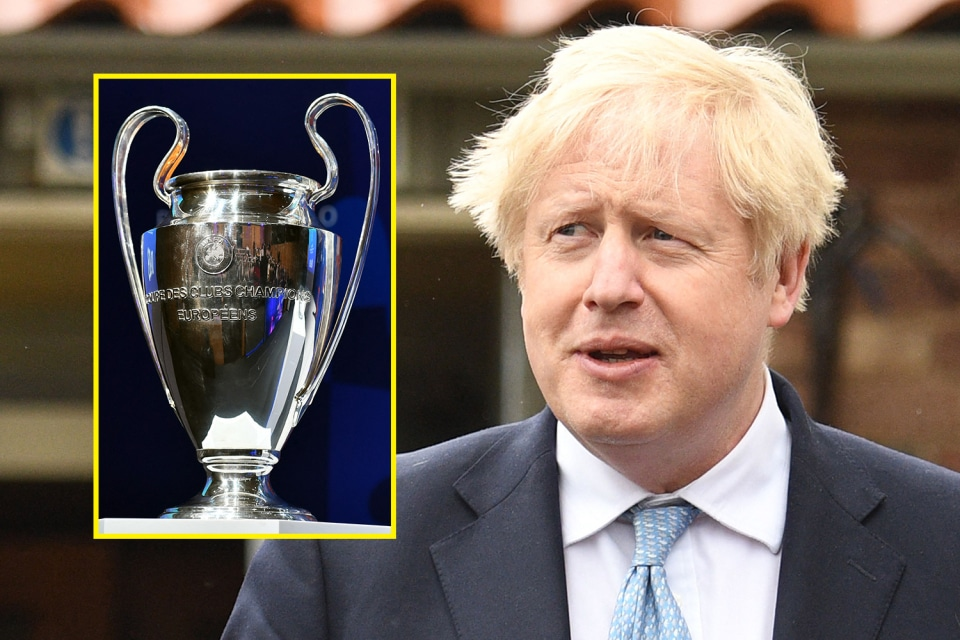 UK Prime Minister Pleads With UEFA To Hold Man City vs Chelsea UCL Final In England