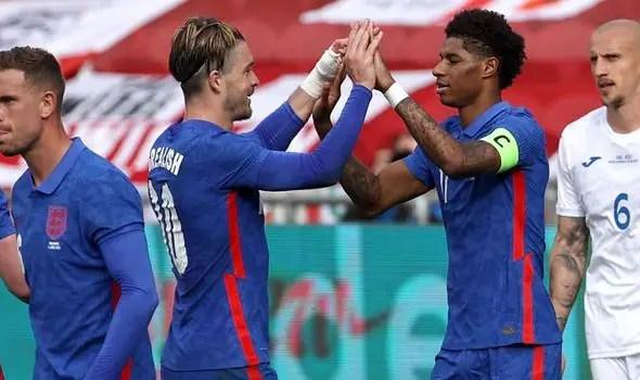 Euro 2020: Start Rashford Ahead Of Grealish Against Germany -Rooney Advises Southgate
