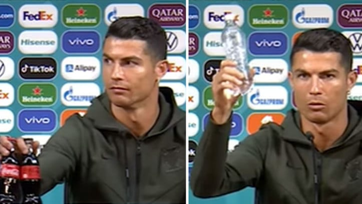 Euro 2020: Coca Cola Counts Losses After Ronaldo Removes Product During Press Conference (Watch Video)