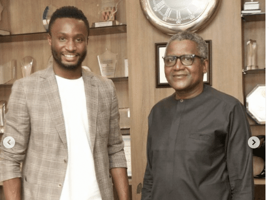 Mikel Parleys With Africa's Richest Man, Dangote