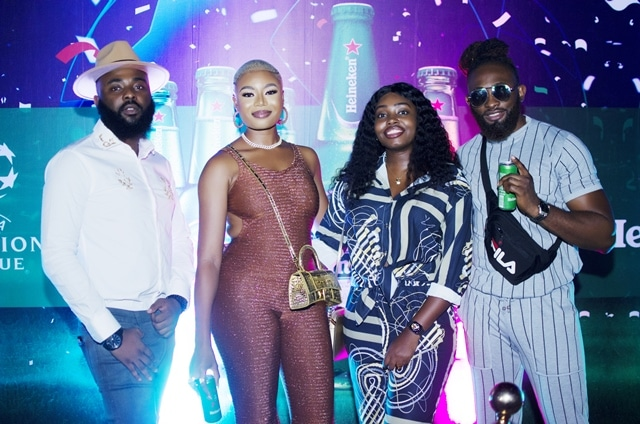 Heineken Thrills Fans With Exciting UCL Final Experience In Abuja