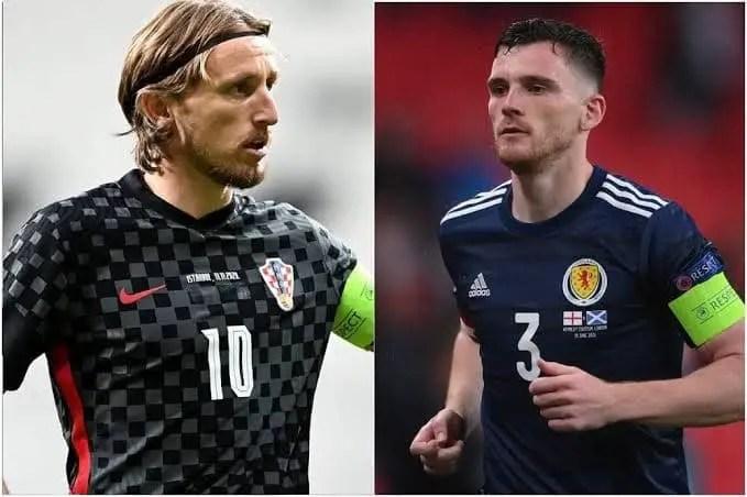 Euro 2020: Croatia, Scotland Battle For Final Round Of 16 Qualification Slot