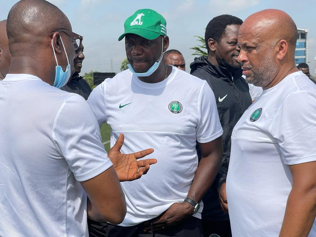 Nigeria Vs Mexico: Eguavoen Admits Tough Final Squad Selection As Home-Based Eagles Jet Out To US