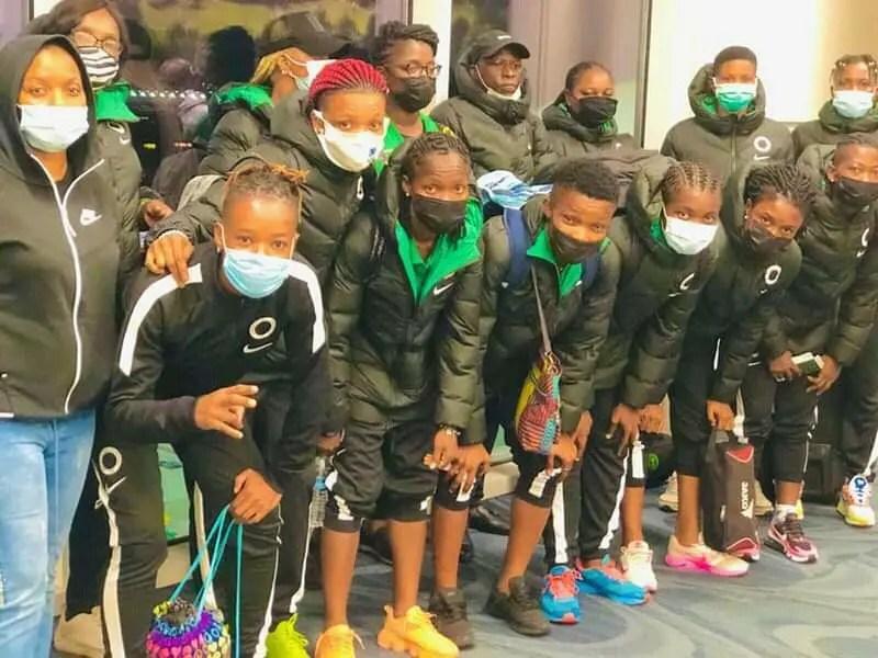Aisha Buhari Cup: Super Falcons Commence Training  In Austria