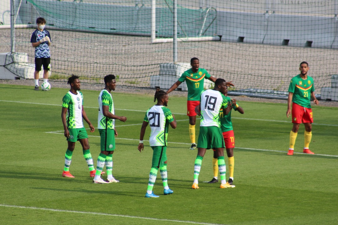 Cameroon 0-0 Nigeria: Super Eagles Hold Indomitable Lions In Rematch