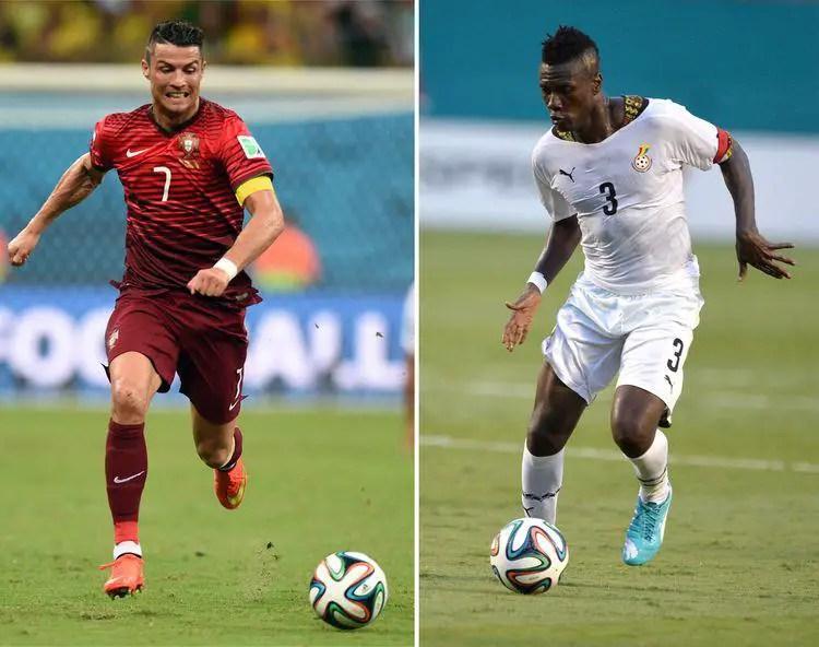 Ronaldo Equals Gyan's Scoring Record After Netting Brace Vs Hungary