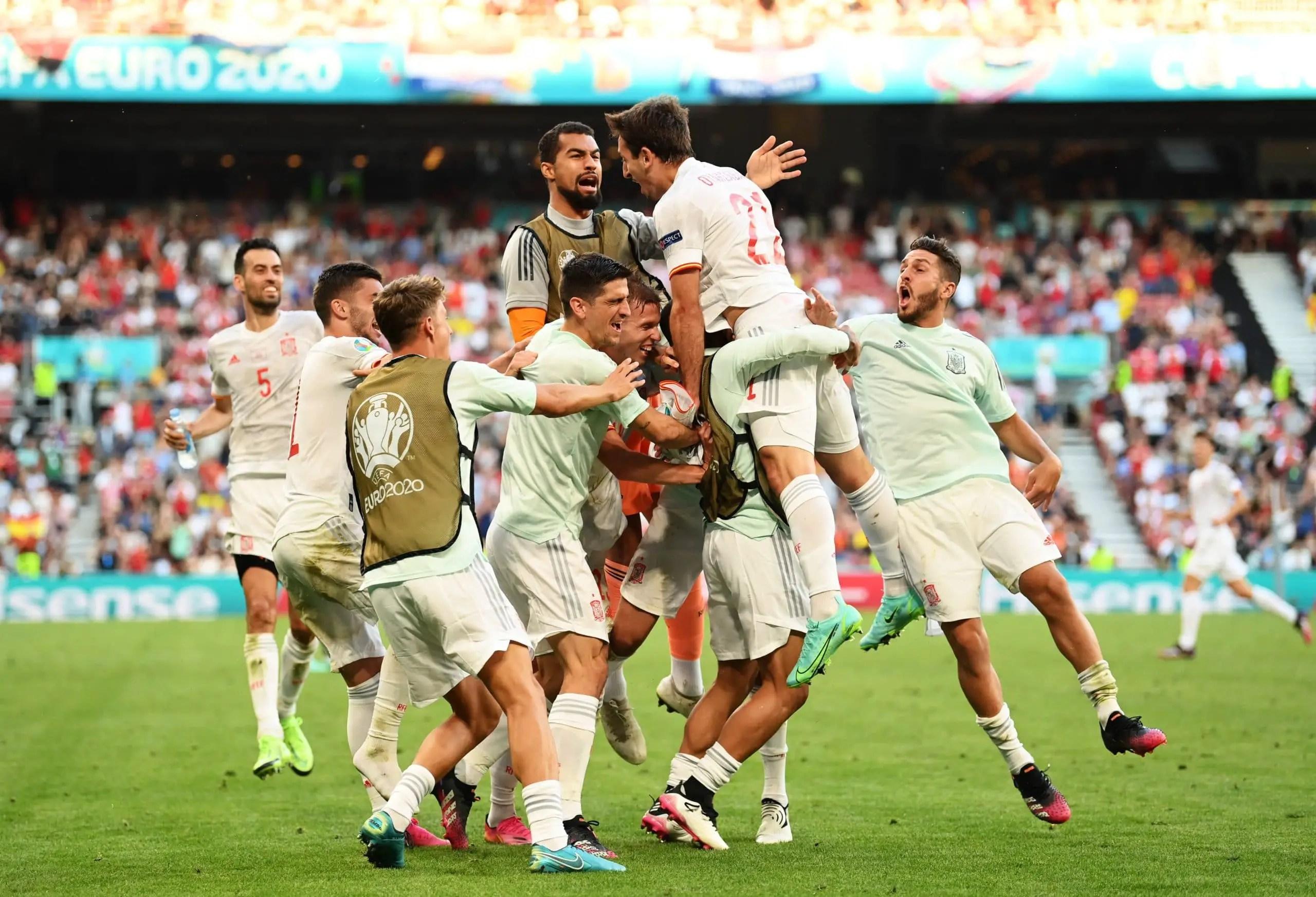 Euro 2020: Spain Beat Croatia In Eight-Goal Thriller