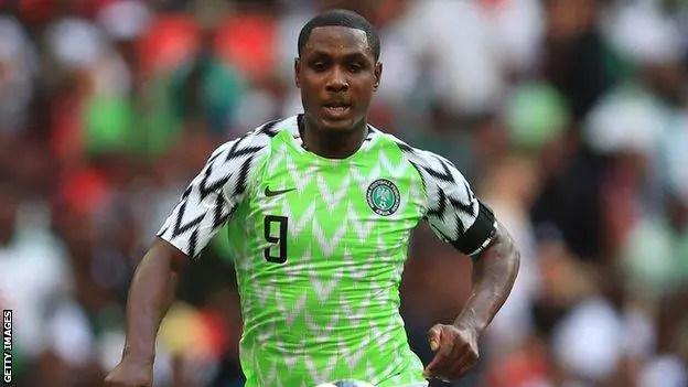 Ighalo Mocks Proposed Name Change For Nigeria