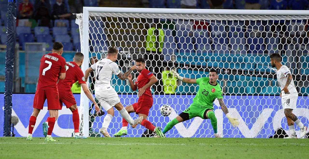 Italy Cruise Past Turkey In Euro 2020 Opener
