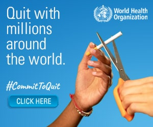 Quit Tobacco Today To Be A Winner