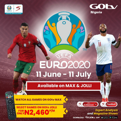 Here's All You Need To Know About UEFA Euro 2020 Airing On DStv And GOtv