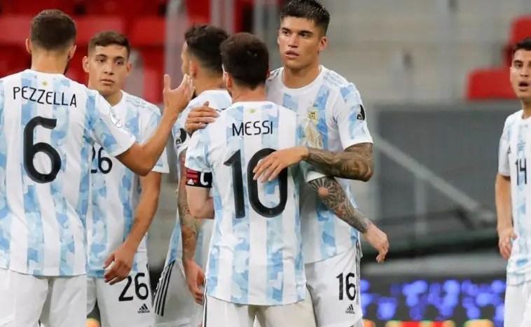 Messi Shines As Argentina Overcome Uruguay In Copa America