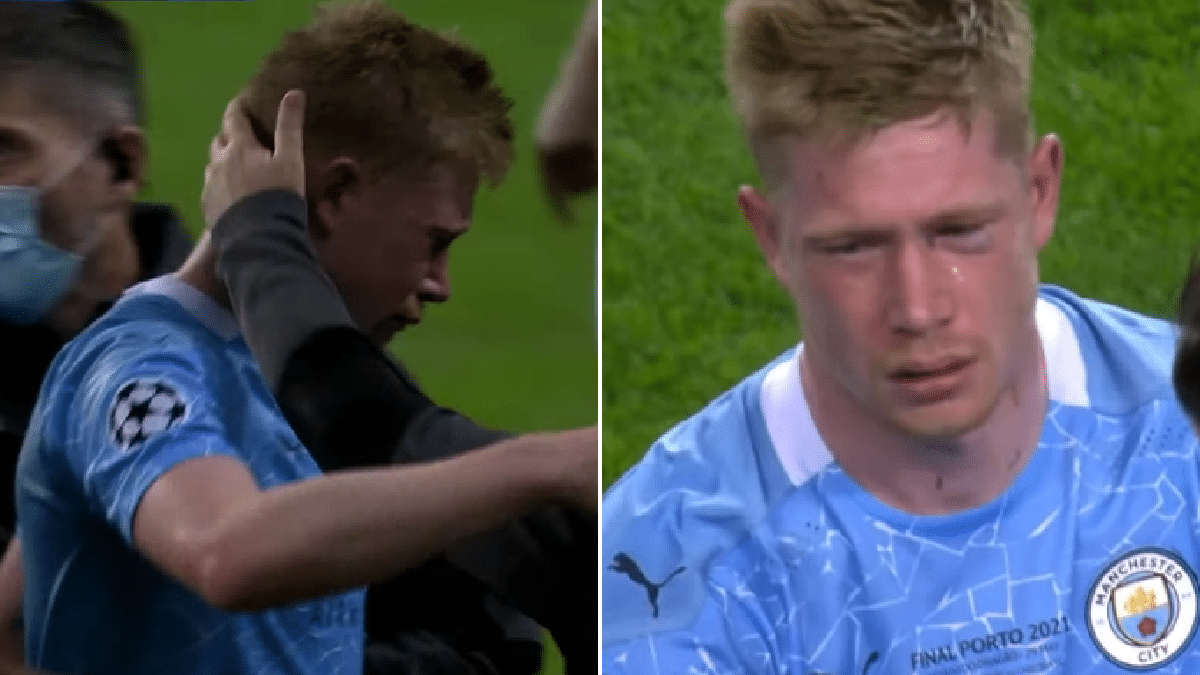 Why It Will Take Me Six Months To Recover From Facial Injury – De Bruyne