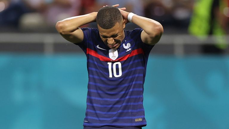 Euro 2020: I Failed My Country -Mbappe