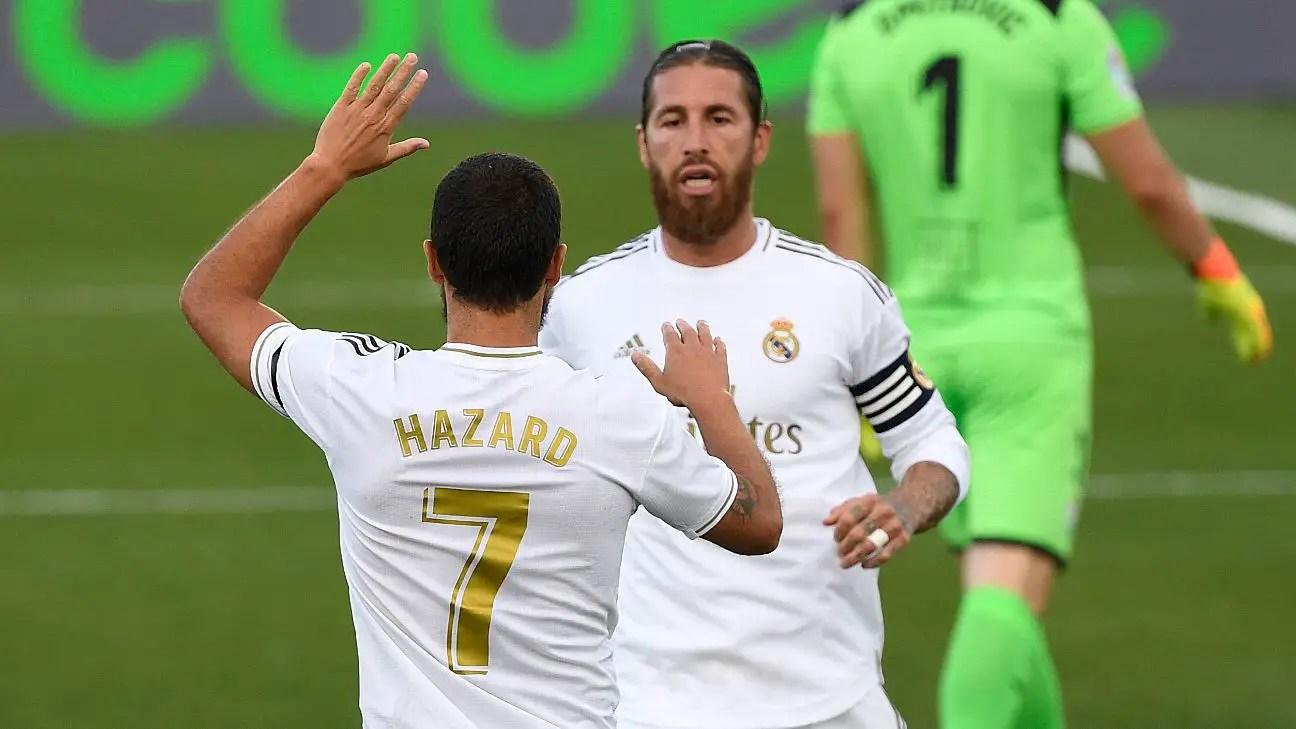 Hazard Tags Ramos As One Of Best Defenders In World's Football