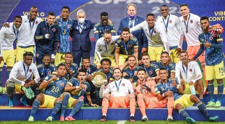 Copa America: Colombia Coach Hails Players After Third-Place Finish