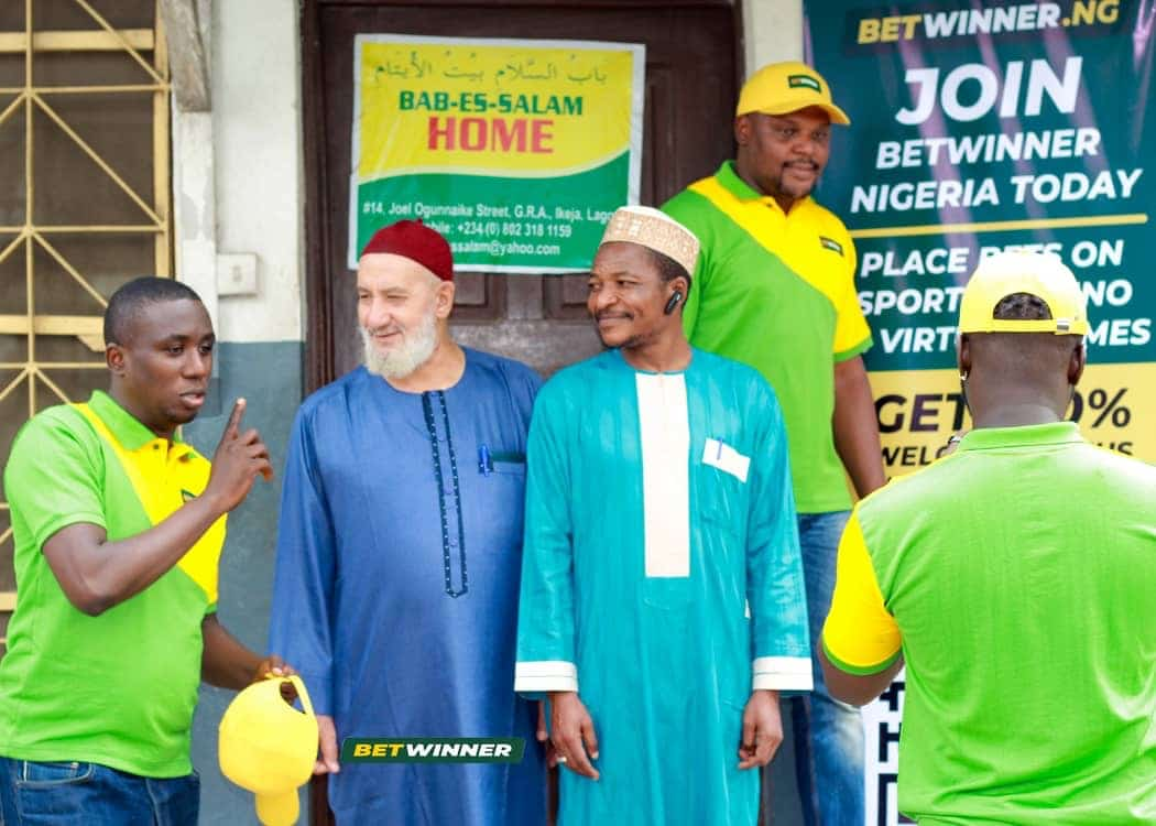 Betwinner Donate Cash, Food Items To Bab-Es-Salam, Tabitha Orphanages