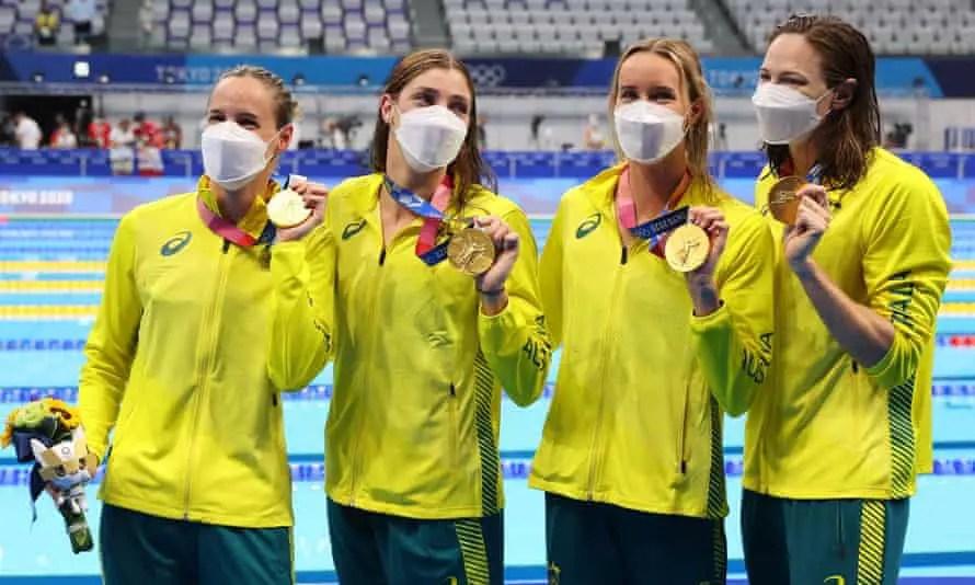 Tokyo 2020: Australia Smash World Record To Win Women's 4x100m Relay Gold Medal