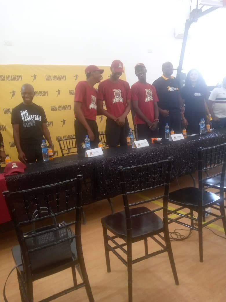 Basketball: OBN Academy Send Three To US On Scholarship