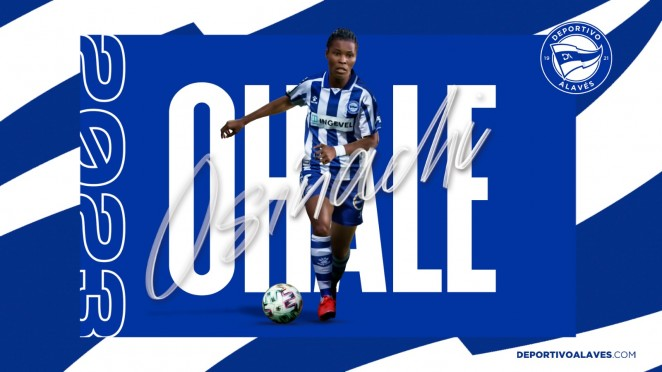 Super Falcons Defender  Ohale Seals Two-Year Deal With  Deportivo Alaves