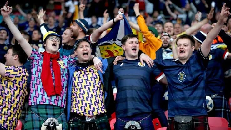 Health Agency: Nearly 2,000 Scottish Fans Attended Euro 2020 With COVID-19