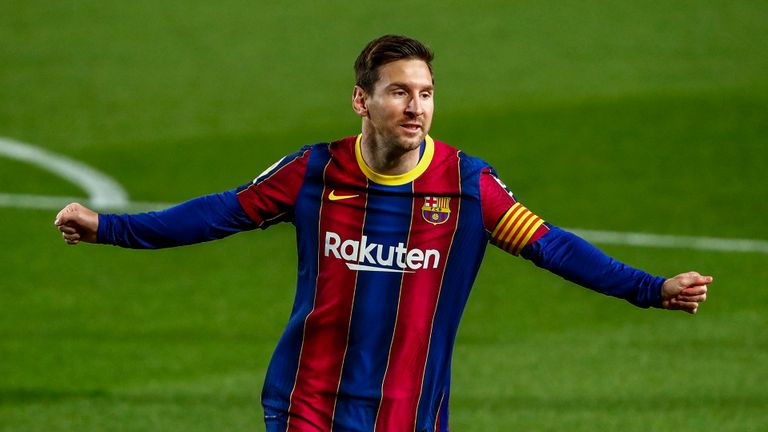 Barcelona Making Progress In Renegotiating With Messi -Laporta
