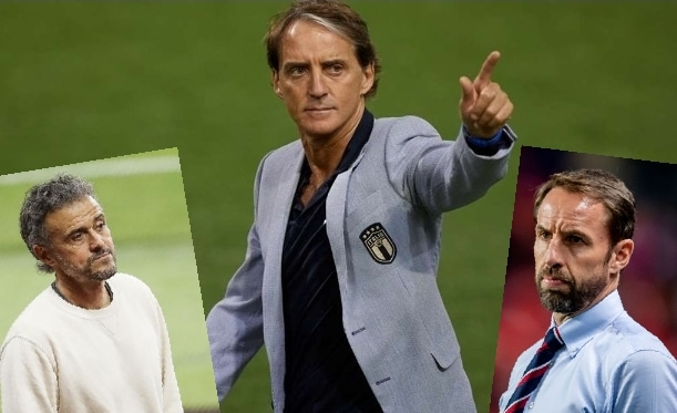 Mancini Rated Most Handsome Euro 2020 Coach Ahead Enrique, Southgate