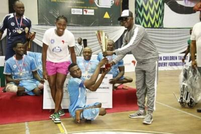 Oshoala Donates Wheelchairs To Para-Soccer Athletes
