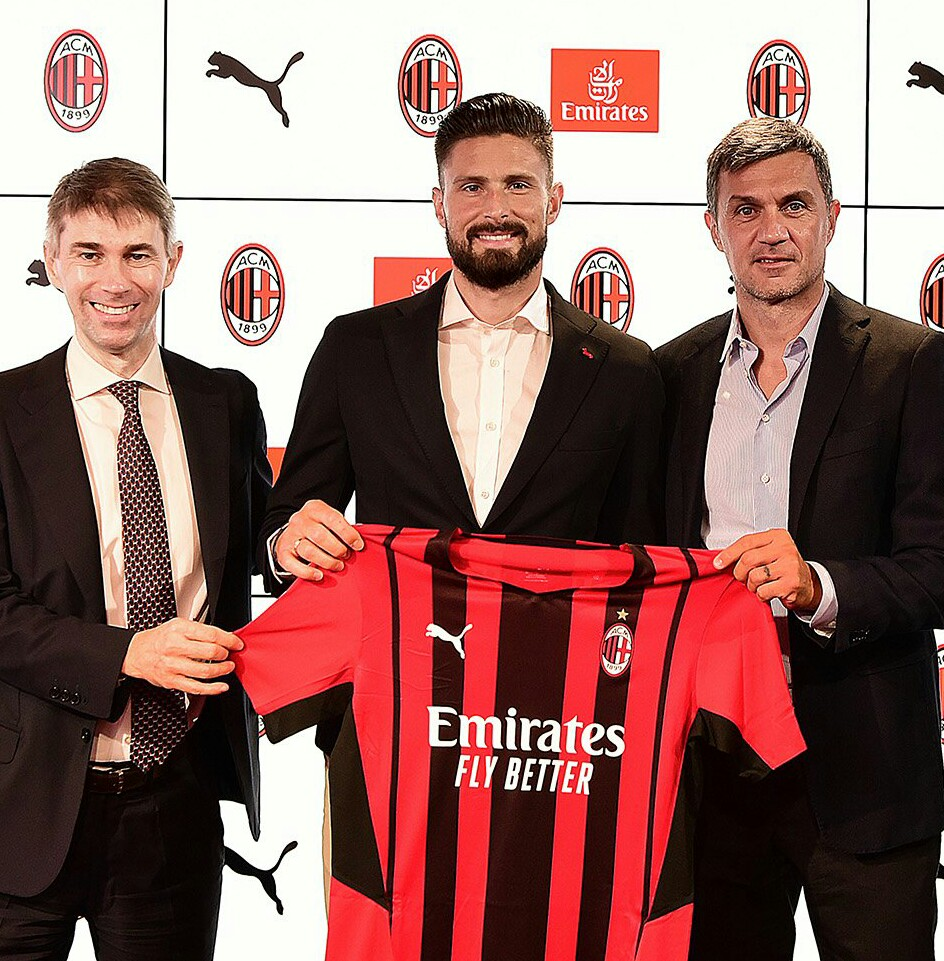 OFFICIAL: Giroud Completes AC Milan Transfer From Chelsea