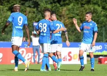 Osimhen Scores Four Goals In Napoli Pre-Season Win