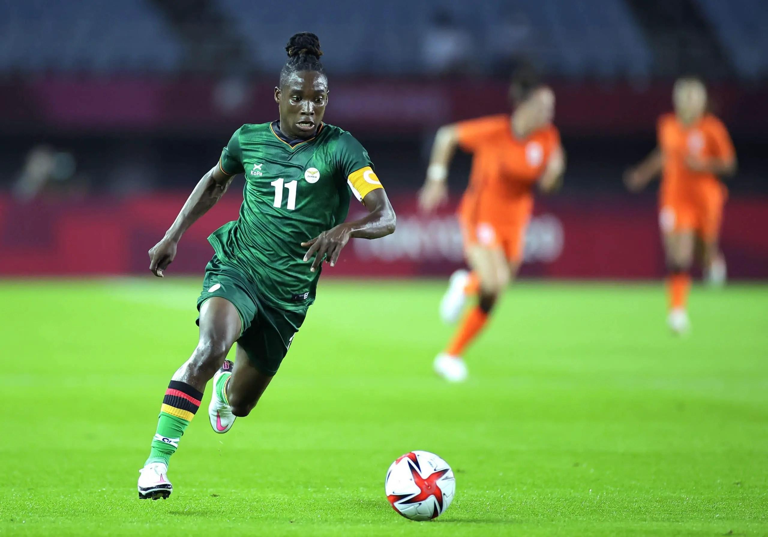 Tokyo 2020 Football: Zambia's Banda Makes Olympic History In 10-3 Loss To Netherlands