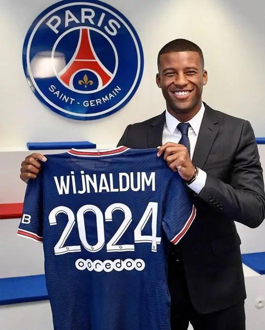 Wijnaldum Wants Pogba at PSG