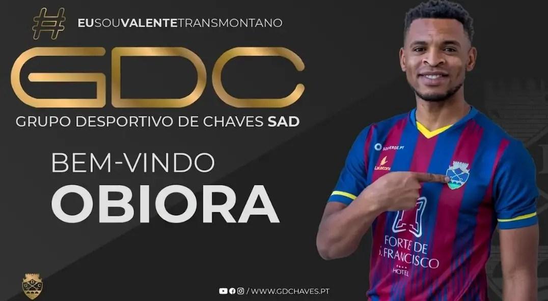 Obiora Nwankwo Joins Portuguese Club Chavez