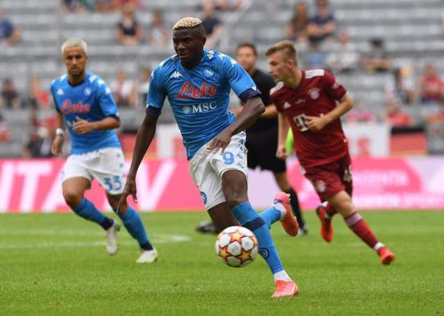 Napoli Sweating On Osimhen Fitness Ahead Leicester Trip