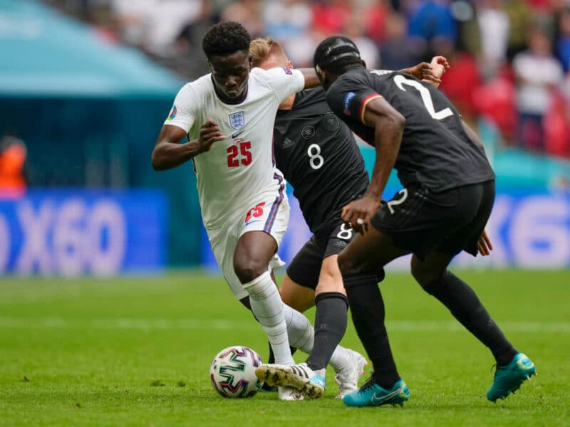 Euro 2020: 'Why Saka Will Be A Problem For Italy Defence' – Ex-Chelsea Star Cole