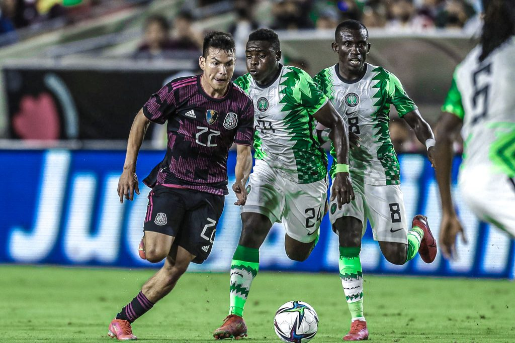 Playing Against Mexico Was A Great Experience -Iwuala