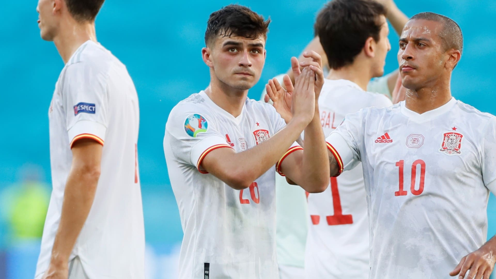 Euro 2020: I'm Privilege To Play Alongside Thiago -pedri