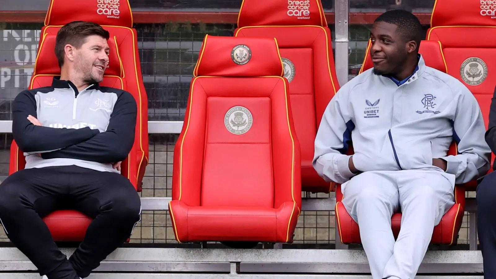 Rangers Boss Gerrard Reveals Nnamdi Oforboh Heart Issue