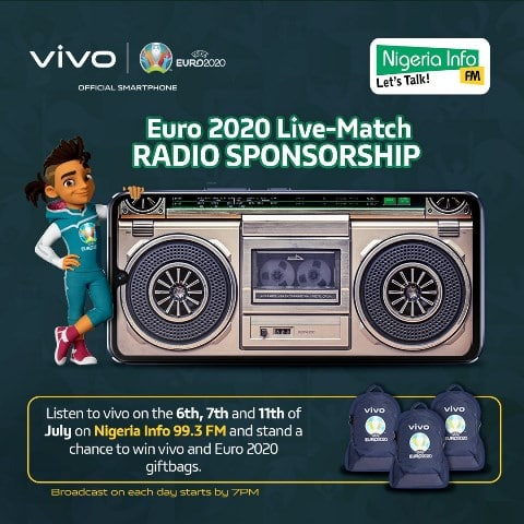 vivo's Euro 2020 Tournament Partnership And Gift Incentives For Fans