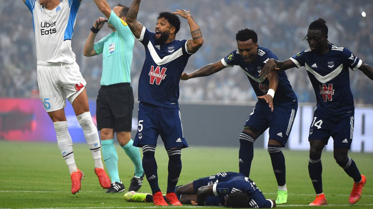 Kalu Collapses During Ligue 1 Game Against Marseille (See Photos)