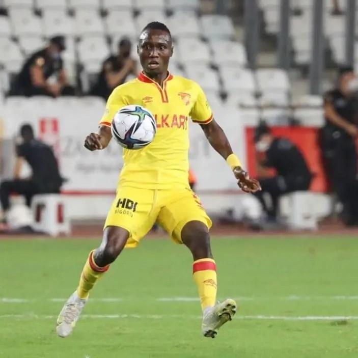 Exclusive: Nwobodo Makes Team-Of-The-Week In Turkey; Rated Standout Midfielder