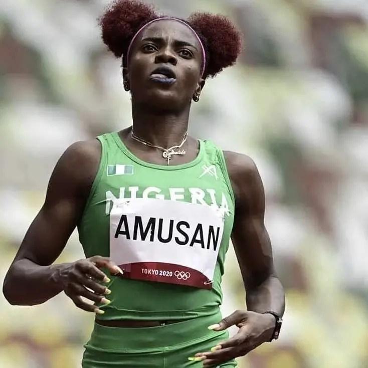 Amusan: Second Nigerian To Make 100m Hurdles Final At Olympics