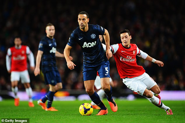 REVEALED:'I Wanted To Join Arsenal In 2014 But Wenger Rejected' – Man United Legend Ferdinand