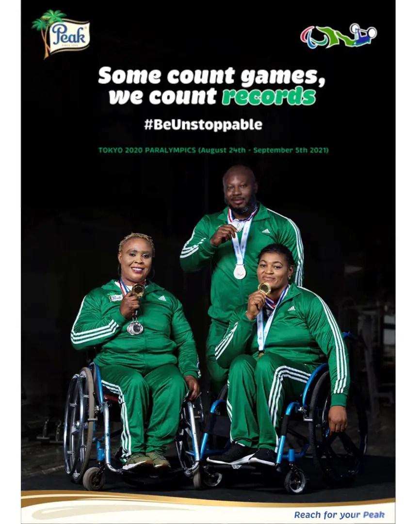 Peak Sponsors Nigeria's Paralympians At Tokyo 2020