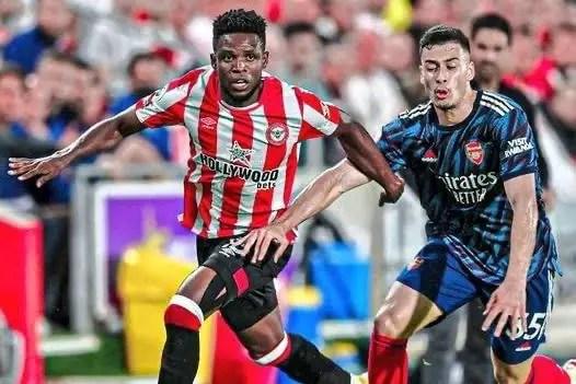 Onyeka Gets Very Good Rating In Brentford's Shock Win Vs Arsenal