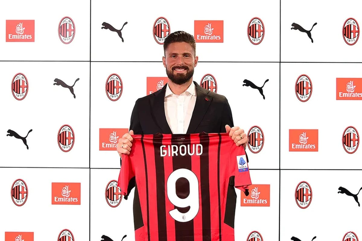 I Was Destined By God To Play For AC Milan -Giroud
