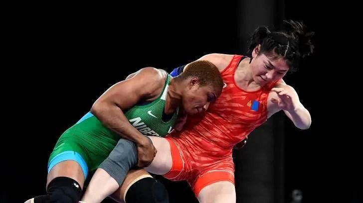 UPDATE: Oborodudu Secures Team Nigeria's First Medal In Tokyo