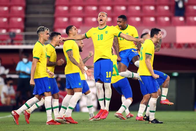 Tokyo 2020: Brazil Beat Mexico On Penalties To Reach Final; Equals Hungary's Olympic Football Record