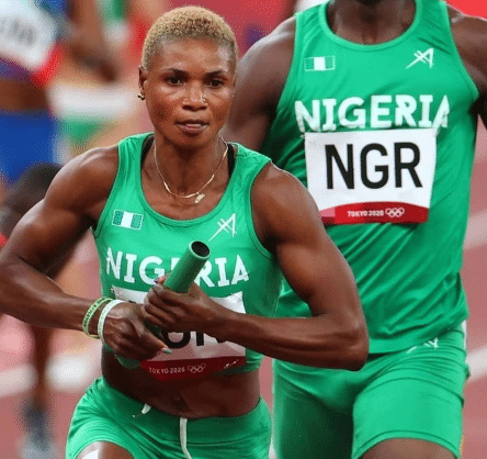 Tokyo 2020: Nigeria Crashes Out In Women's 4×100m Relay