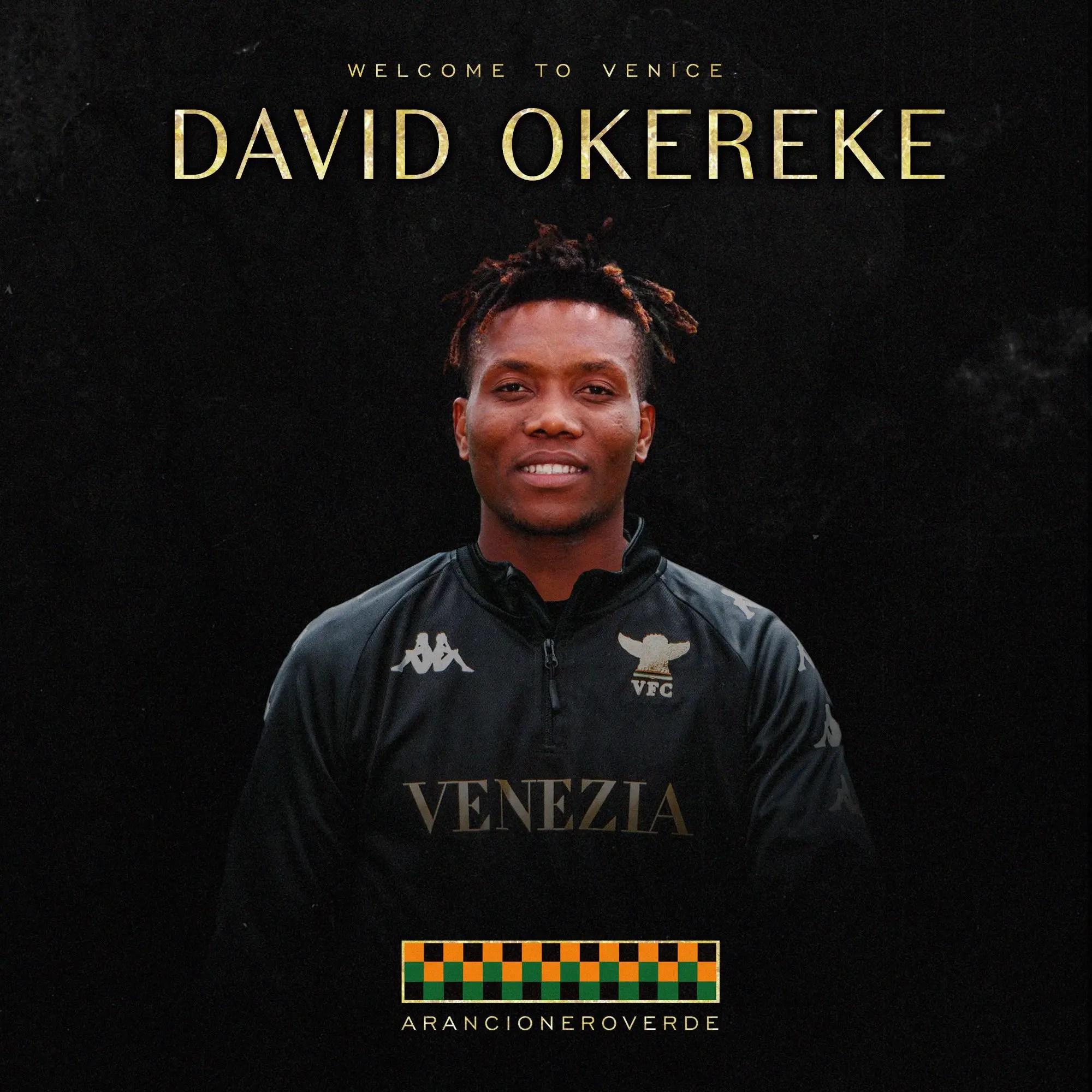 OFFICIAL: Okereke Joins Serie A Newcomers Venezia On Loan